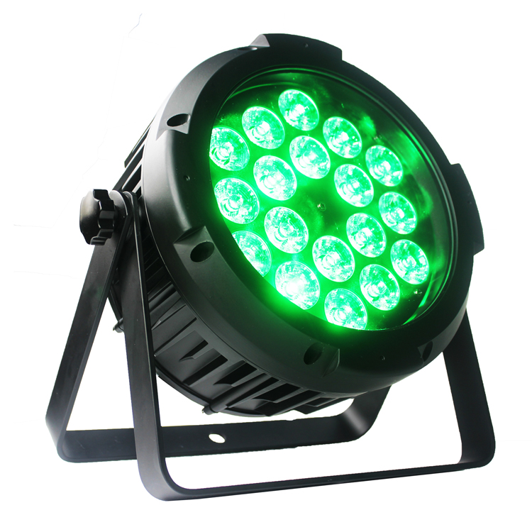 led battery par light